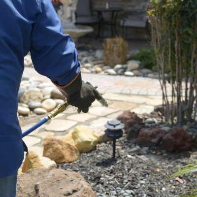 Pre-Construction Preventative Treatments using Soil Injection for Subterranean Termites 5of6.
