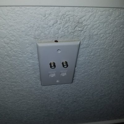 Pest Control - General Pests - Indoor Treatments - Bed Bugs inside wall outlet.