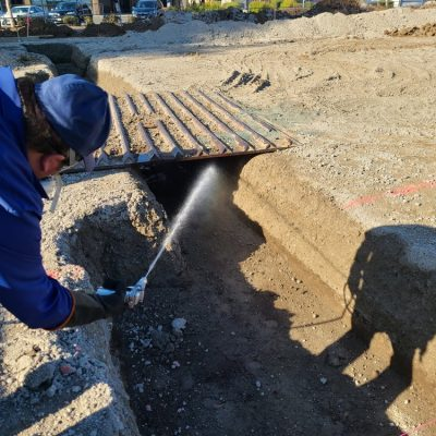 Pre-Construction Preventative Treatments using Soil Injection for Subterranean Termites 2of4.